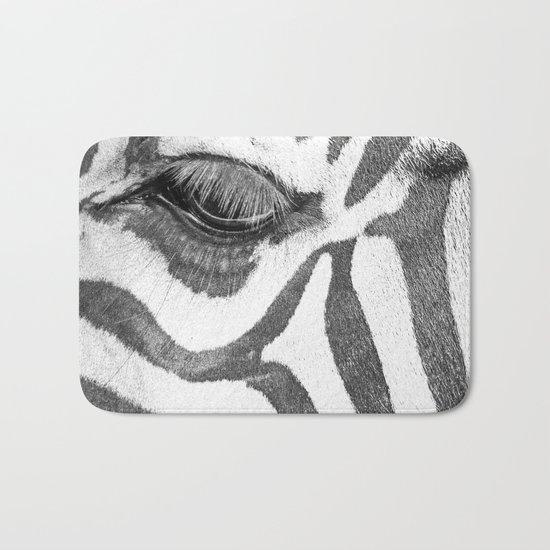 eyes Zebra Bath Mat