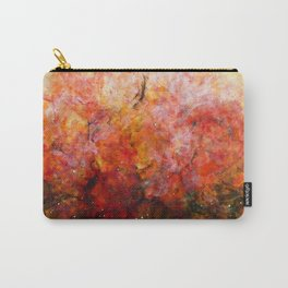 Daybreak - Original Abstract Painting Carry-All Pouch