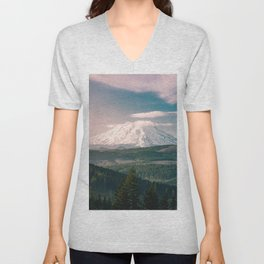 Saints and Sinners - 126/365 Nature Photography Mount St. Helens Unisex V-Neck