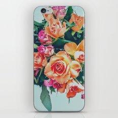Retro roses iPhone & iPod Skin