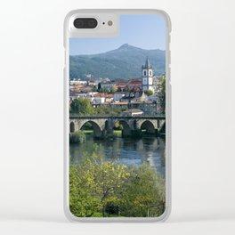 Ponte da Barca, the Minho, North Portugal Clear iPhone Case