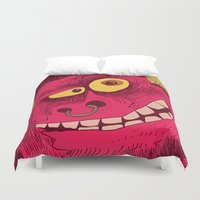 beast Duvet Covers featuring Beast by Steve Steiner