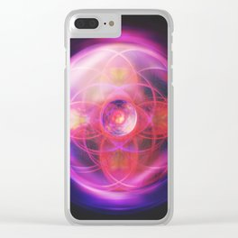 Rose Crown | Crown Chakra Clear iPhone Case