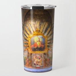 Saint Padre Pio St Stephens Cathedral Vienna Travel Mug