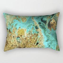 Sapphire Diver Rectangular Pillow