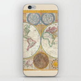 Map 1794 Laurie & Whittle iPhone Skin
