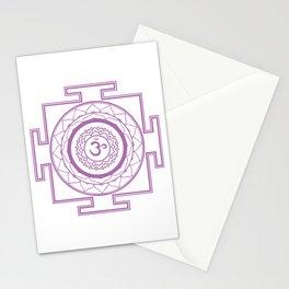 Sri Yantra Crown Chakra Stationery Cards