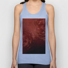 Wonderful flowers in soft red colors Unisex Tank Top