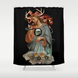 Phantoms Vice Shower Curtain