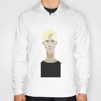 ryan gosling Hoodies featuring Ryan Gosling (The place beyond the pines) by Bady Church