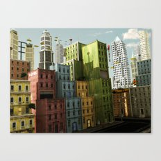 Sky Cafe Canvas Print