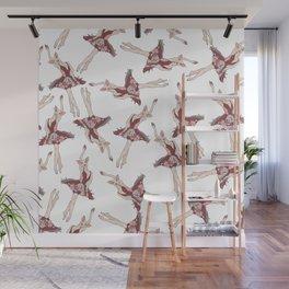 Pig Ballerina Tutu Wall Mural