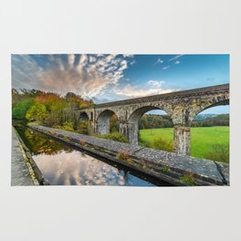 Chirk Aqueduct And Viaduct Rug