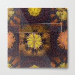 Redressable Stiffness Flower  ID:16165-100918-15761 Metal Print