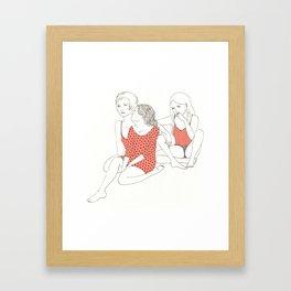 Ce matin Framed Art Print