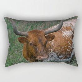 Longhorn Rectangular Pillow