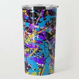 Abstract fans 2 Travel Mug