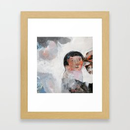 From the Skein of Flickering Shadows  Framed Art Print