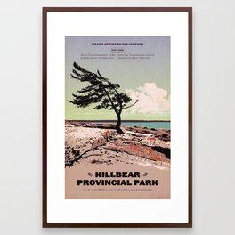 Killbear Provincial Park Framed Art Print