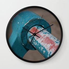 Welsh erosion Wall Clock