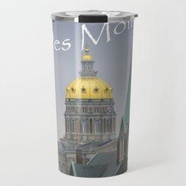 Des Moines Capitol Travel Mug