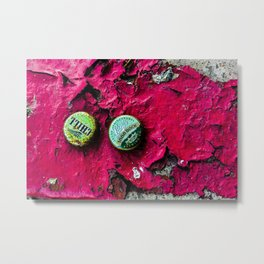 Booze and Grit Metal Print