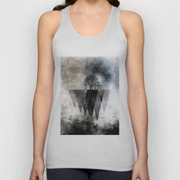 TREES over MAGIC MOUNTAINS II Unisex Tank Top