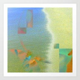 divine symmetry Vi Art Print