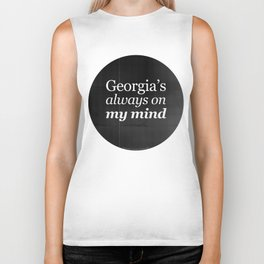 Georgia's always on my mind Biker Tank