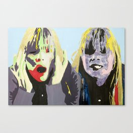 Girl with Locks of Gold Canvas Print