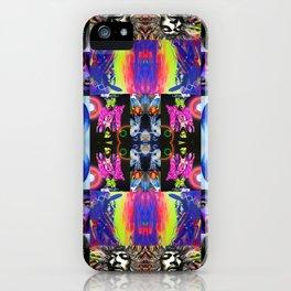 'Jimi Kaleidoscope III' iPhone Case