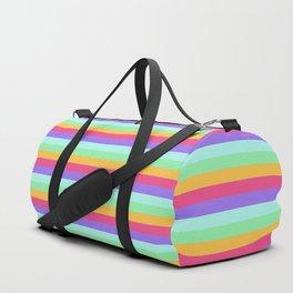 Unicorn Stripes Duffle Bag
