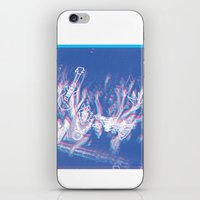 concert iPhone & iPod Skins featuring CONCERT by TOO MANY GRAPHIX