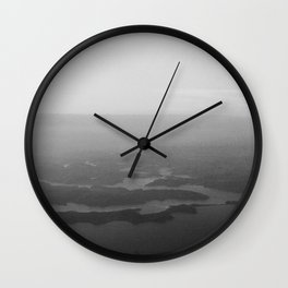 Shadow inlets Wall Clock