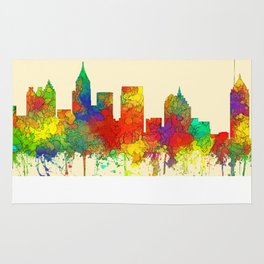 Atlanta, Georgia Skyline - SG Rug