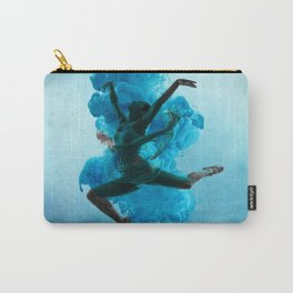 Ballet Dancer in Deep Sea. Carry-All Pouch