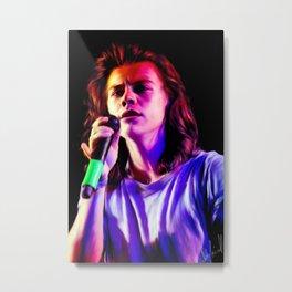 Harry Styles 12/9/15 Metal Print