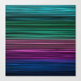 Rainbow thread , abstract pattern 1 Canvas Print