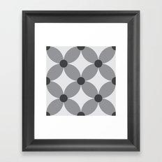 Pattern Tile 2.3 Framed Art Print