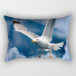 In the storm Rectangular Pillow