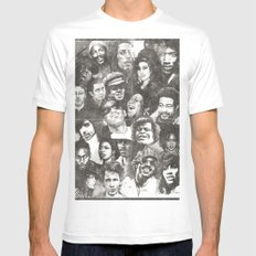 Timeless (Aged Version) MEDIUM Mens Fitted Tee White