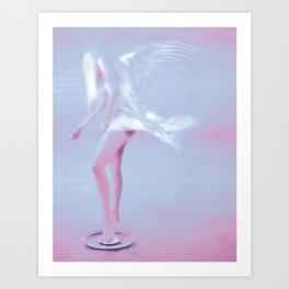 Water Angel Art Print