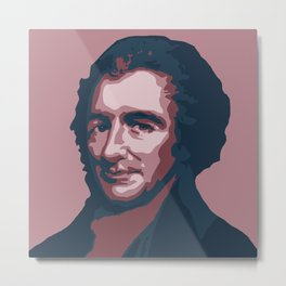 Thomas Paine Metal Print