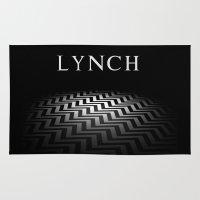 david lynch Area & Throw Rugs featuring Lynch by Spyck