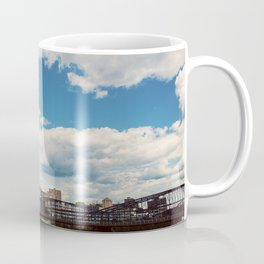 Hearts Over Pittsburgh Coffee Mug