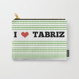 I Love Tabriz Carry-All Pouch