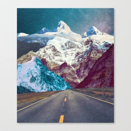 The Last Stretch Canvas Print