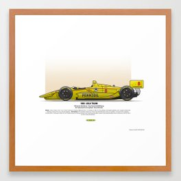 #8 LOLA - 1993 - T9300 - Fabi Framed Art Print