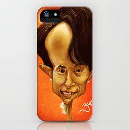 Aung San Suu Kyi iPhone Case