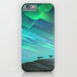 Follow the Pack iPhone Case